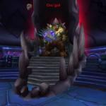 Cho'gall sur son trône