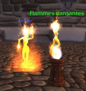 Brasero des Flammes dansantes